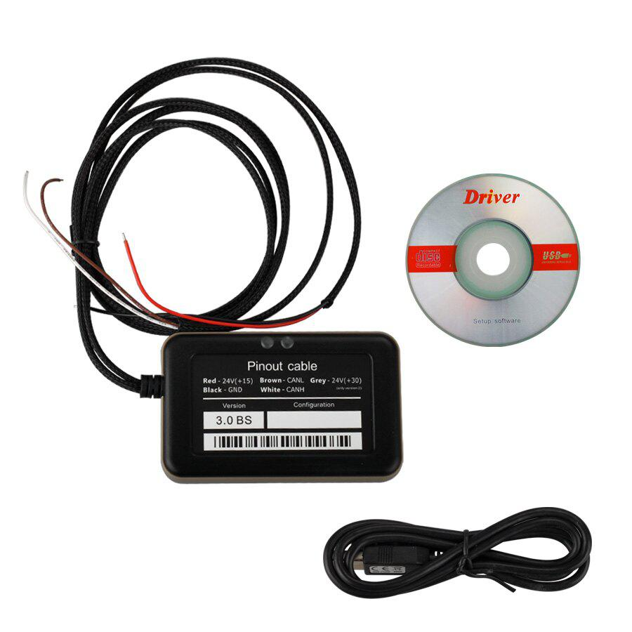 Promotion 8 in 1 Truck Adblueobd2 Emulator with Nox Sensor for Mercedes MAN Scania Iveco DAF Volvo Renault and Ford