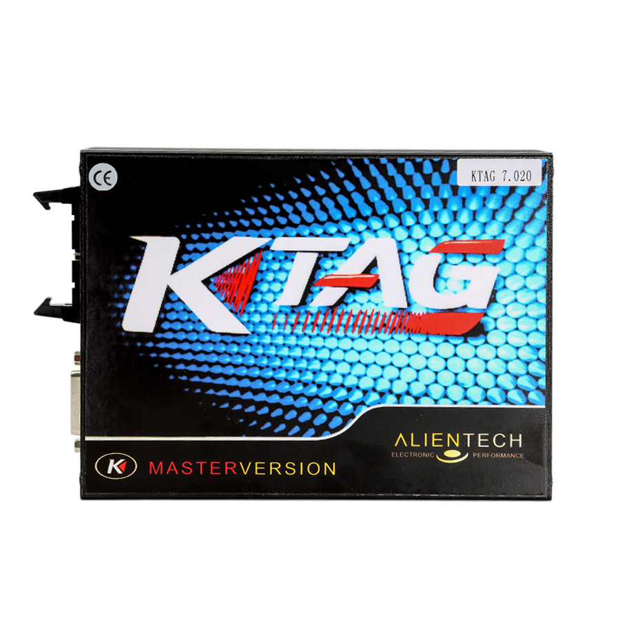 V2.23 KTAG ECU Programming Tool Master Version Firmware V7.020 with Unlimited Token Main Unit