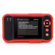 Launch CRP123 Update Online X431 Creader CRP 123 ABS, SRS, Transmission and Engine Code reader creader vii+ OBD2 OBDII scanner