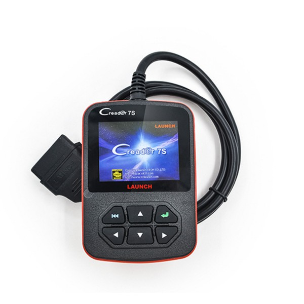 Launch X431 Creader 7S OBD II Code Reader + Oil Reset Function Support Multi-langauge