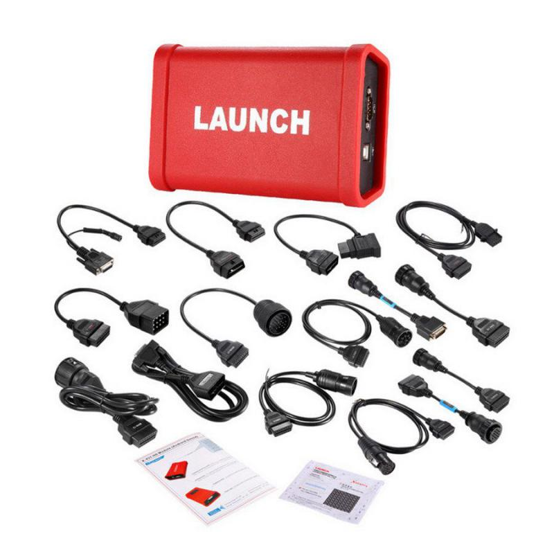 LAUNCH X431 HD Heavy Duty Truck Diagnostic Module Work With Launch X431 V and Software Free Update Online