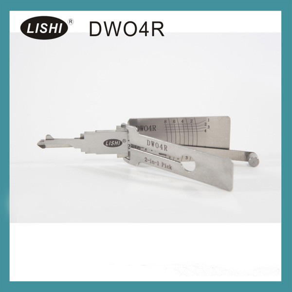 LISHI DWO4R 2-in-1 Auto Pick and Decoder For Buick (LOVA/Excelle/GL8) Chevy