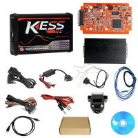 Cheap Kess V2 V5.017 EU Version SW V2.47 with Red PCB Online Version Support 140 Protocol No Token Limited