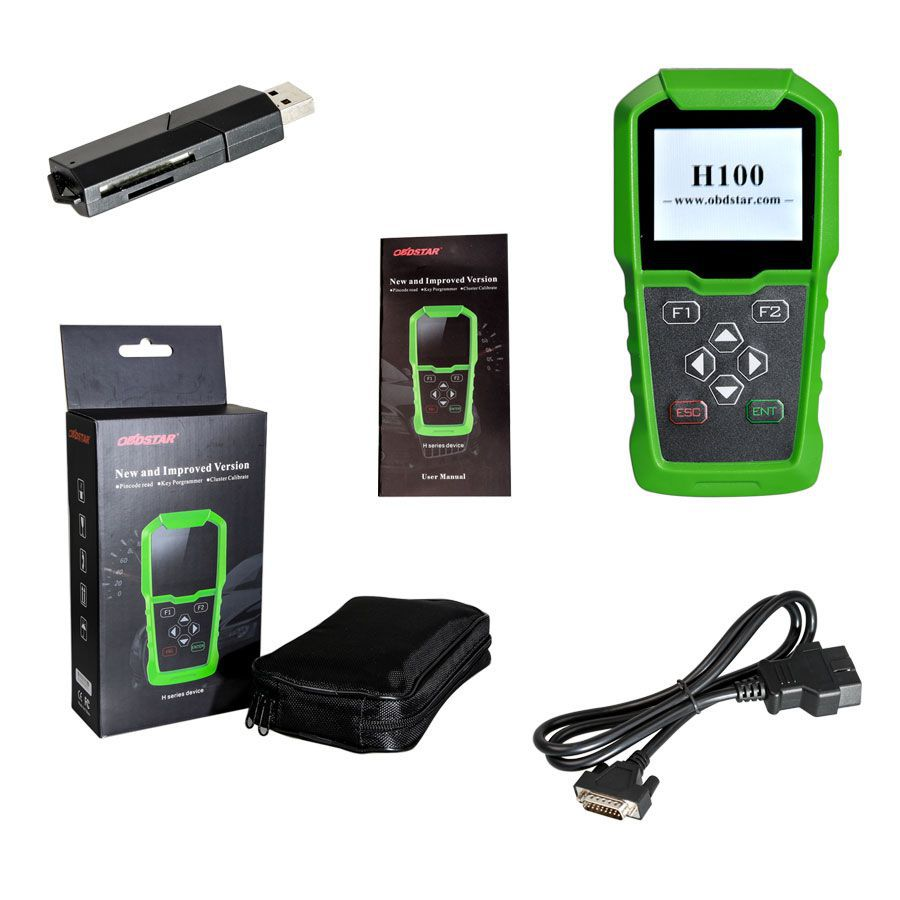 OBDSTAR H100 Ford/Mazda Auto Key Programmer Supports 2017/2018 Models like F250/F350