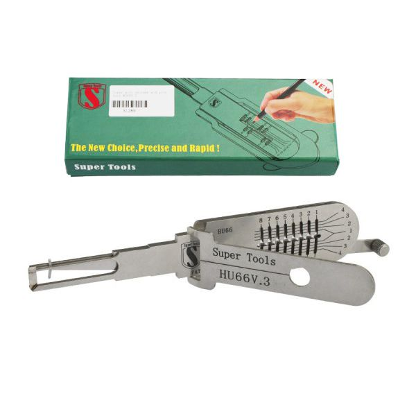 Super Auto Decoder And Pick Tool HU66v.3