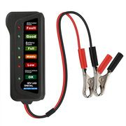 TIROL T16897 12V LED Digital Battery/Alternator Tester with 6 Led lights Display Indicates Condition