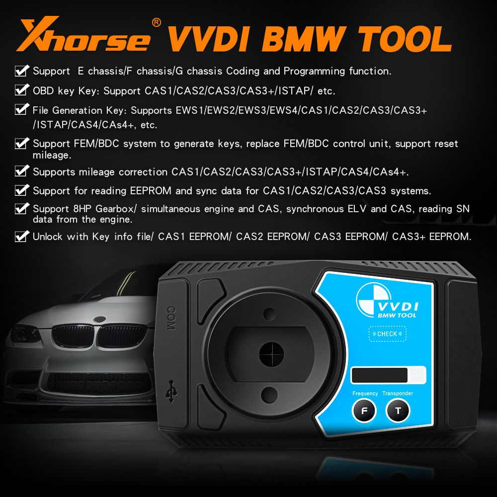 Xhorse VVDI BMW V1.4.7 Diagnostic Coding and Programming Tool