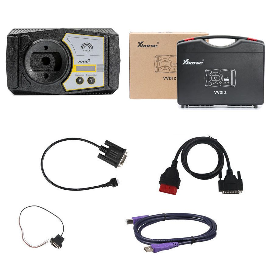 Xhorse VVDI2 Full Kit V6.6.8 with OBD48 + 96bit 48-Clone + MQB + BMW FEM/BDC Free Shipping by DHL