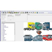 Multi Spare parts Catalog & Service Information for Scania VCI3