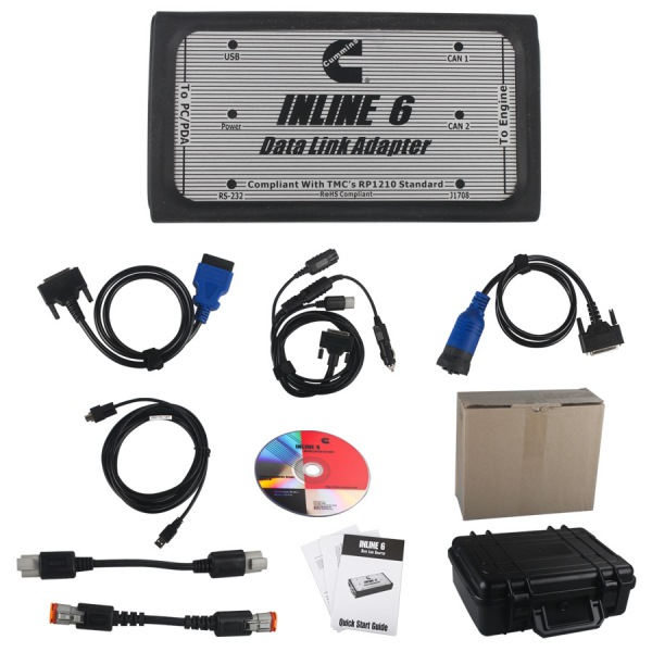 Cummins INLINE 6 Data Link Adapter Insite 7.62 Multi-language Truck Diagnostic Tool