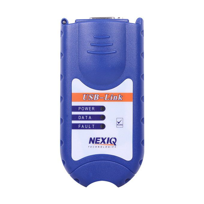 NEX-IQ Auto Heavy Duty Truck Scanner tool USB Link + Software Diesel Truck Interface